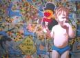 Eendje 4, 150 x 110 cm, olieverf op doek, 2007