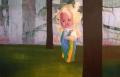 Poppetje, 225 x 145 cm, olieverf op doek, 2005