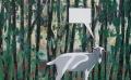 Geit, 150 x 98 cm, olieverf op linnen, 2008.
