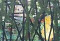 Eendjes 11, 63 x 44 cm, olieverf op linnen, 2010