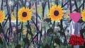 Gabrielle 5, 140 x 80 cm, olieverf op linnen, 2013