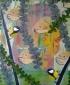 Janita, 44 x 54 cm, olieverf en spuitverf op linnen, 2016