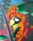 Koolraap, olieverf en acryl op linnen, 25 x 35 cm, 2017