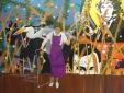 Klopper, olieverf en acryl op linnen, 150 x 119 cm, 2019
